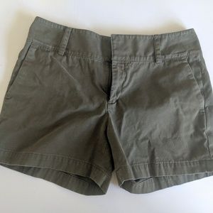 EUC Banana Republic Army Green Shorts